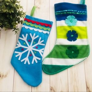 NEW Christmas Stocking Set